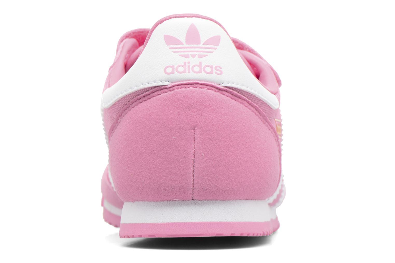 Baskets Adidas Originals Dragon Og Cf C Rose vue droite