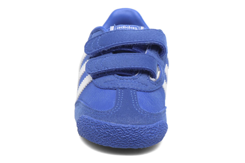 Baskets Adidas Originals Dragon Og Cf I Bleu vue portées chaussures