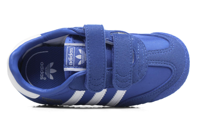 Baskets Adidas Originals Dragon Og Cf I Bleu vue gauche