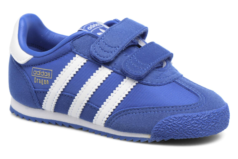 Baskets Adidas Originals Dragon Og Cf I Bleu vue détail/paire