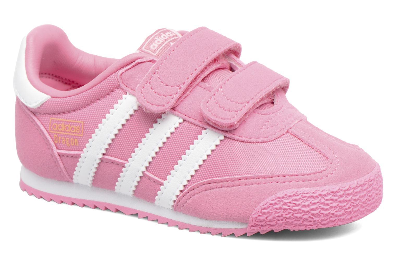 Adidas Originals Dragon og CF I (rosa) formadores Chez Sarenza (286478)