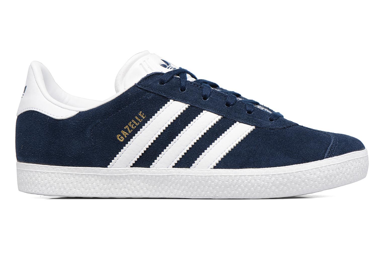 Baskets Adidas Originals Gazelle J Bleu vue derrière
