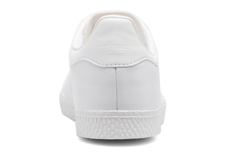 Sneaker Adidas Originals Gazelle C weiß ansicht von rechts