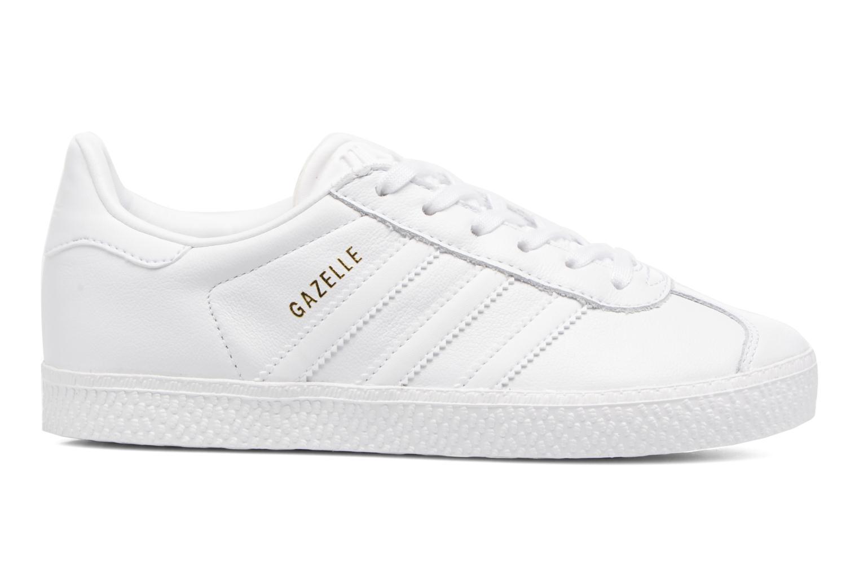 Baskets Adidas Originals Gazelle C Blanc vue derrière
