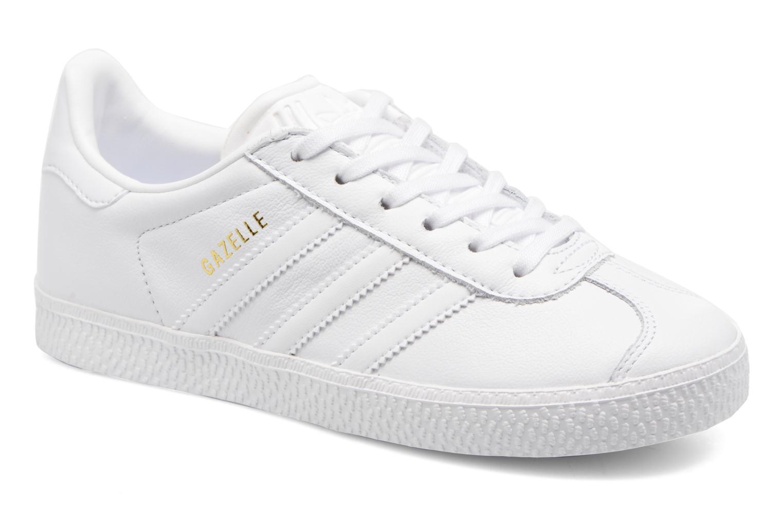 Sneaker Adidas Originals Gazelle C weiß detaillierte ansicht/modell