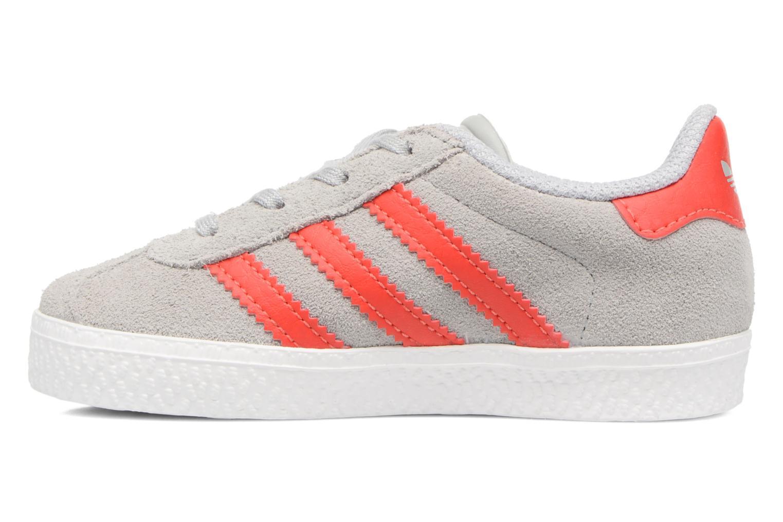 Sneakers Adidas Originals Gazelle I Grigio immagine frontale