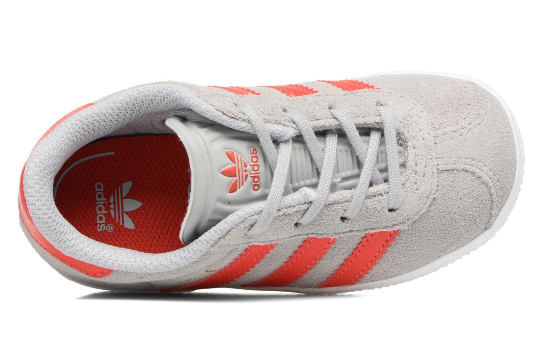 Sneakers Adidas Originals Gazelle I Grigio immagine sinistra
