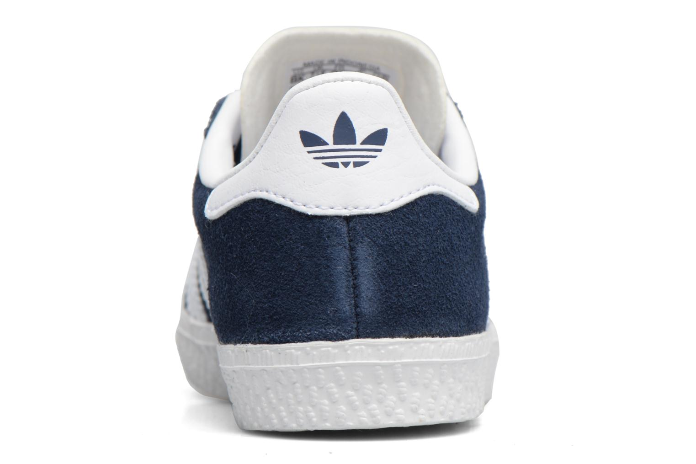 Baskets Adidas Originals Gazelle I Bleu vue droite