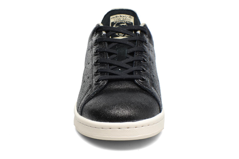 Baskets Adidas Originals Stan Smith Fashion J Noir vue portées chaussures