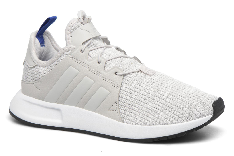 Baskets Adidas Originals X_Plr J Gris vue détail/paire