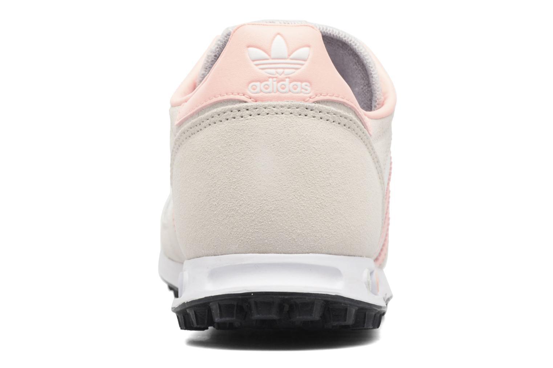 Baskets Adidas Originals La Trainer J Beige vue droite