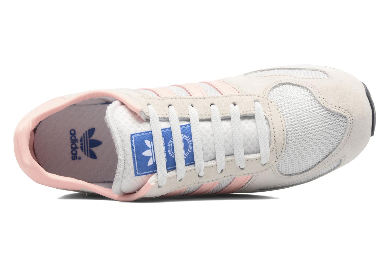 Baskets Adidas Originals La Trainer J Beige vue gauche