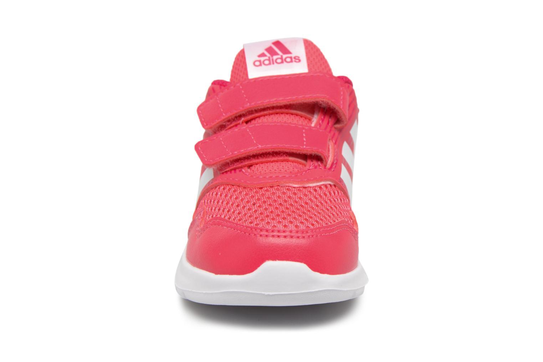 Baskets Adidas Performance Altarun Cf I Rose vue portées chaussures