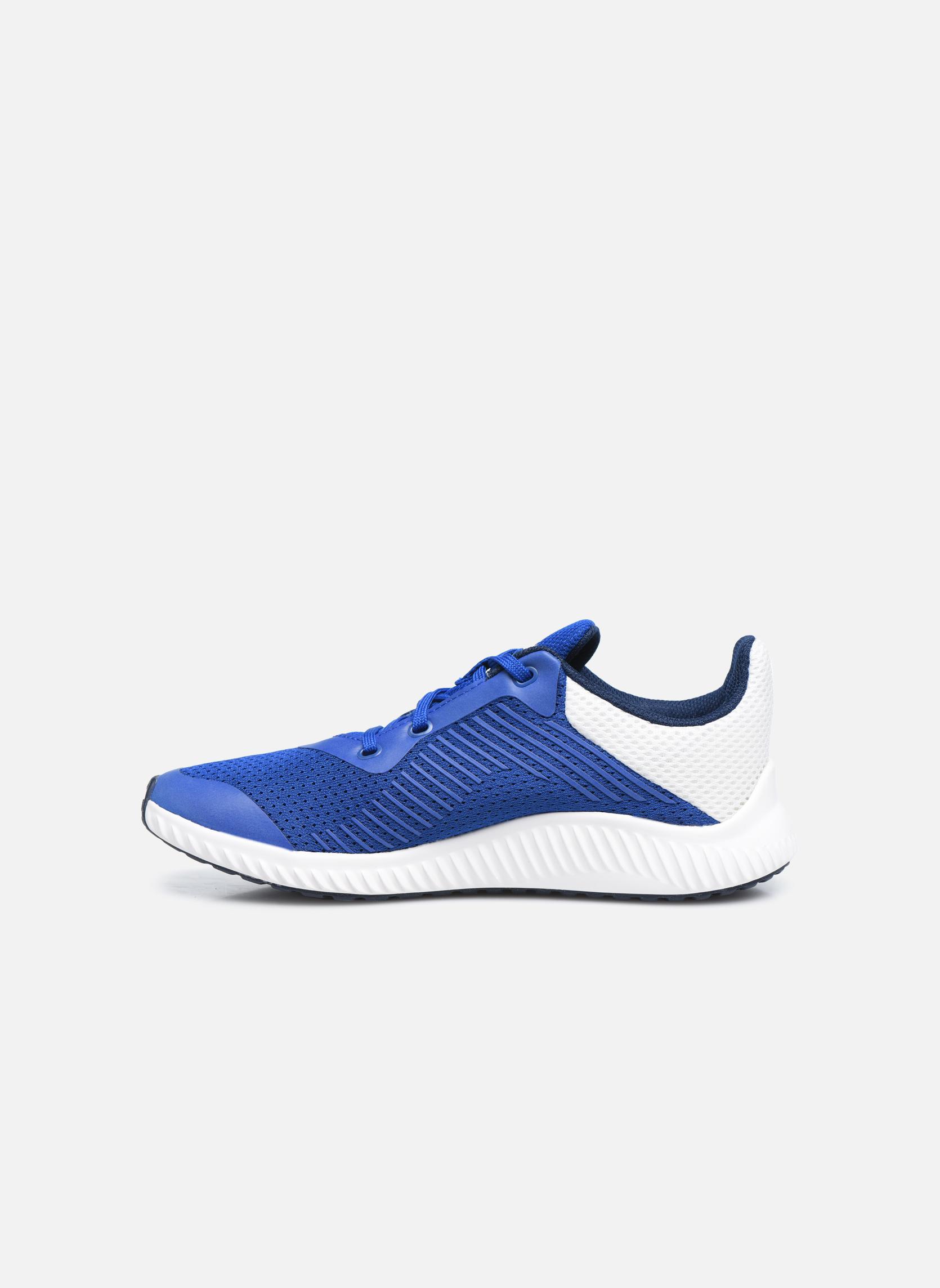 Baskets Adidas Performance Fortarun K Bleu vue face