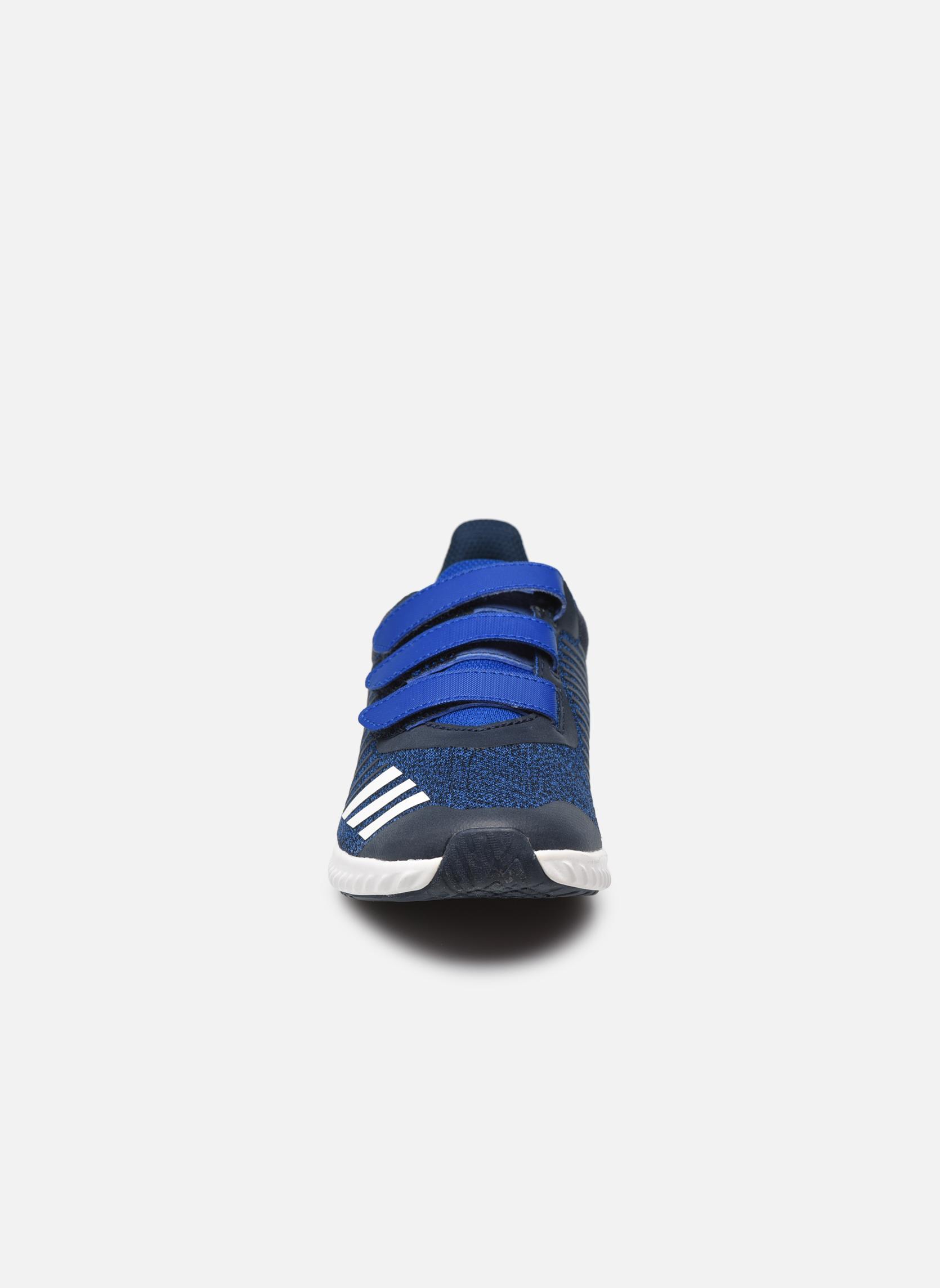 Baskets Adidas Performance Fortarun Cf K Bleu vue portées chaussures