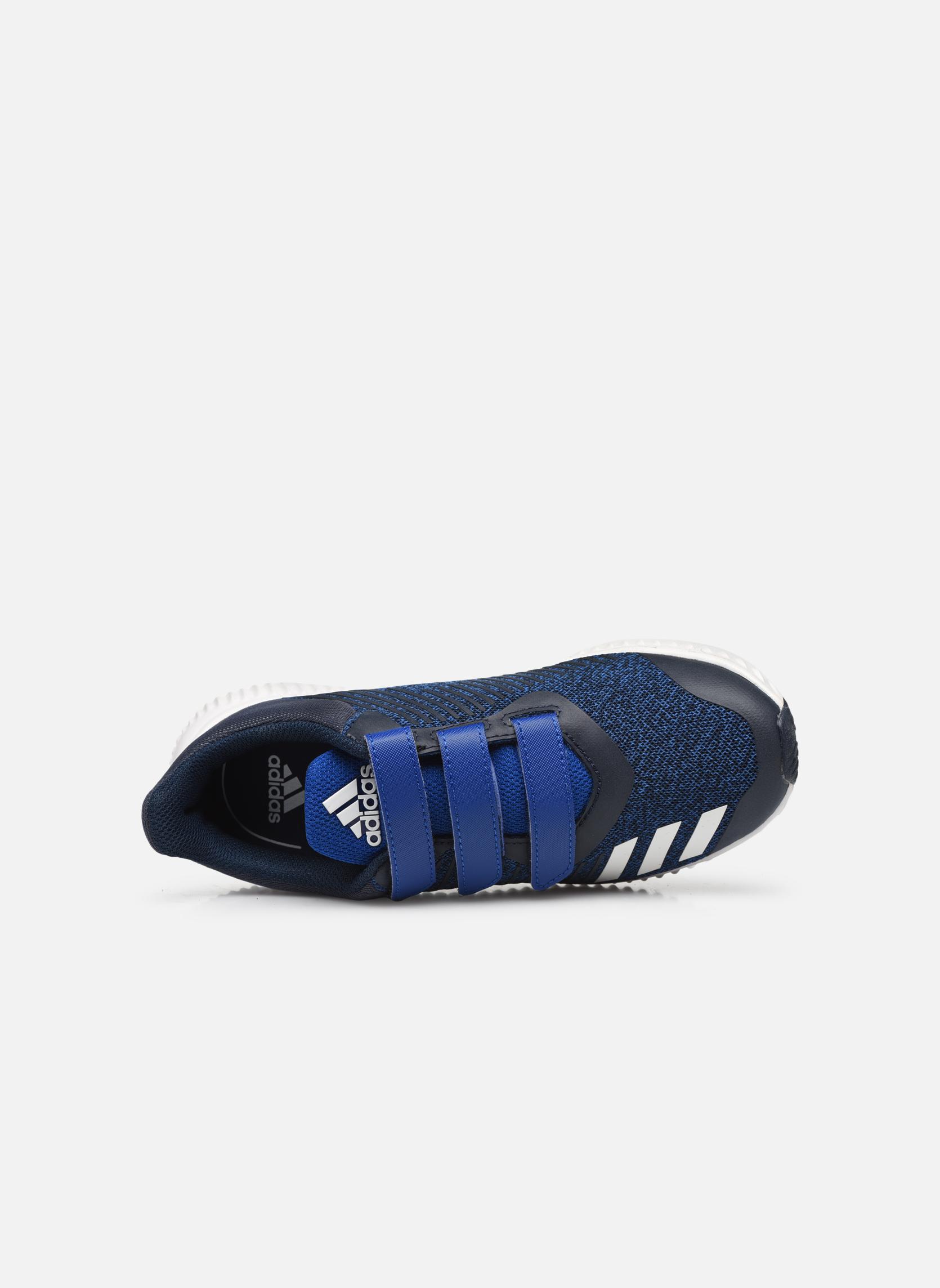 Baskets Adidas Performance Fortarun Cf K Bleu vue gauche