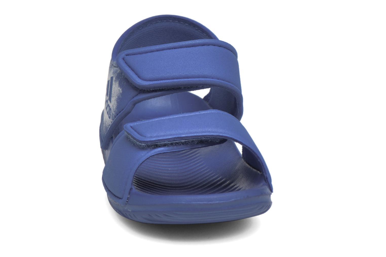 Sandales et nu-pieds Adidas Performance Altaswim I Bleu vue portées chaussures