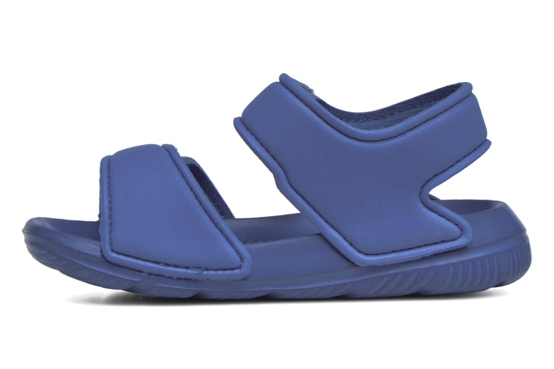 Sandales et nu-pieds Adidas Performance Altaswim I Bleu vue face