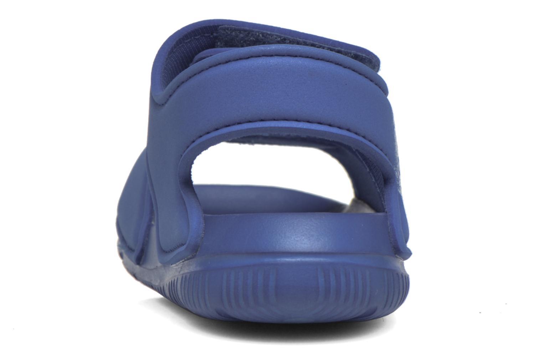 Sandales et nu-pieds Adidas Performance Altaswim I Bleu vue droite