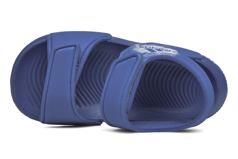 Sandales et nu-pieds Adidas Performance Altaswim I Bleu vue haut