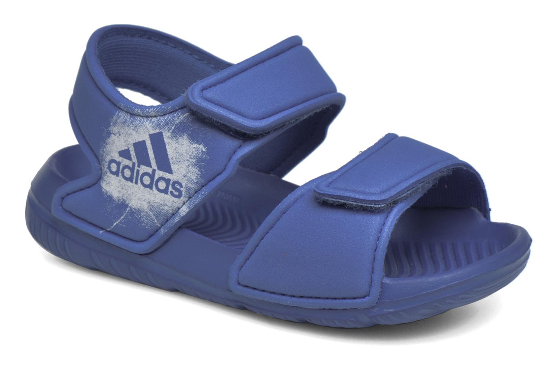 Sandales et nu-pieds Adidas Performance Altaswim I Bleu vue détail/paire