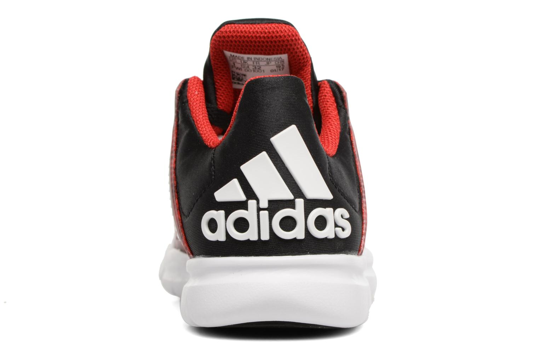 Baskets Adidas Performance Marvel Spider-Man K Rouge vue droite