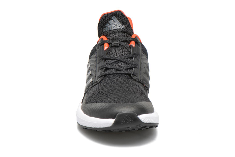 Baskets Adidas Performance Rapidarun K Noir vue portées chaussures