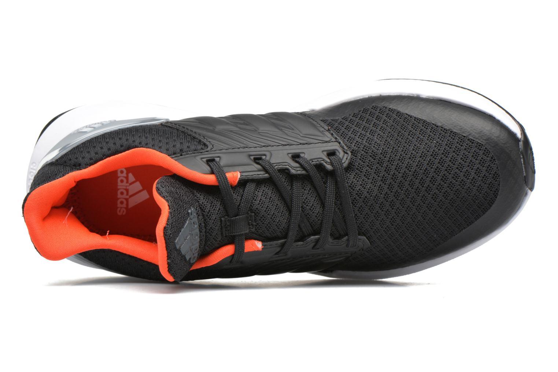 Baskets Adidas Performance Rapidarun K Noir vue gauche