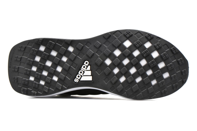 Baskets Adidas Performance Rapidarun K Noir vue haut