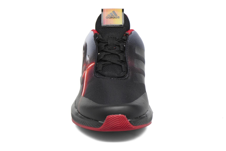 Baskets Adidas Performance Star Wars K Noir vue portées chaussures