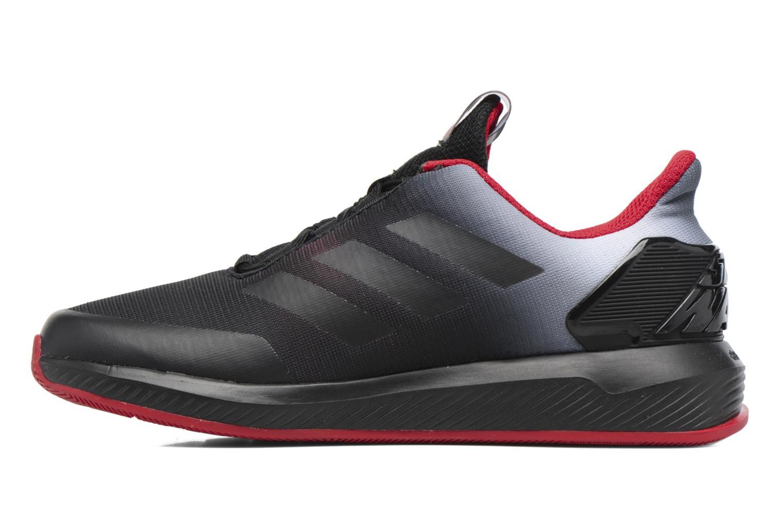 Baskets Adidas Performance Star Wars K Noir vue face