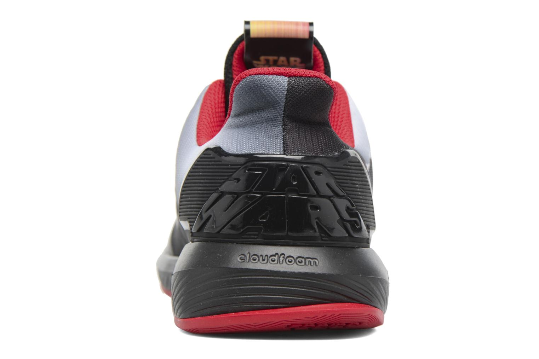 Baskets Adidas Performance Star Wars K Noir vue droite