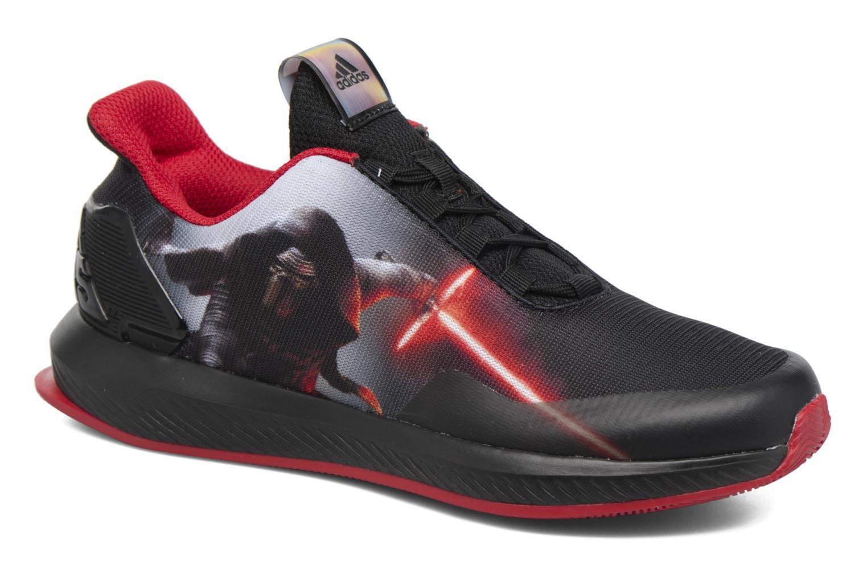 Baskets Adidas Performance Star Wars K Noir vue détail/paire