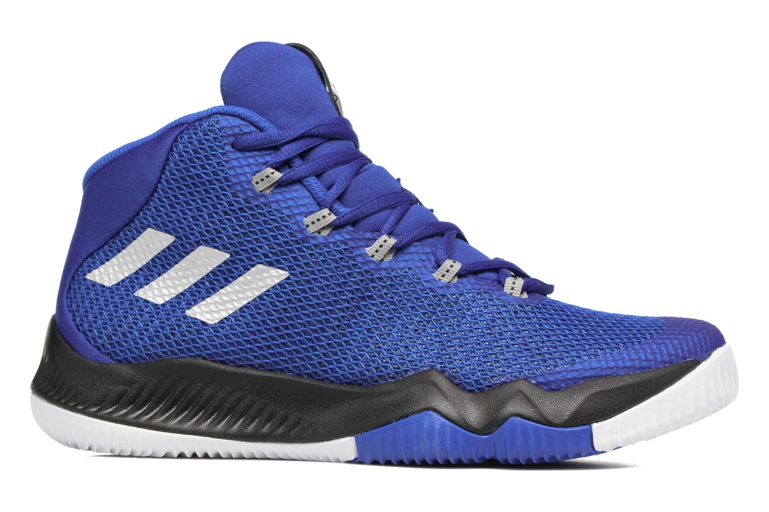 Baskets Adidas Performance Crazy Hustle J Bleu vue derrière