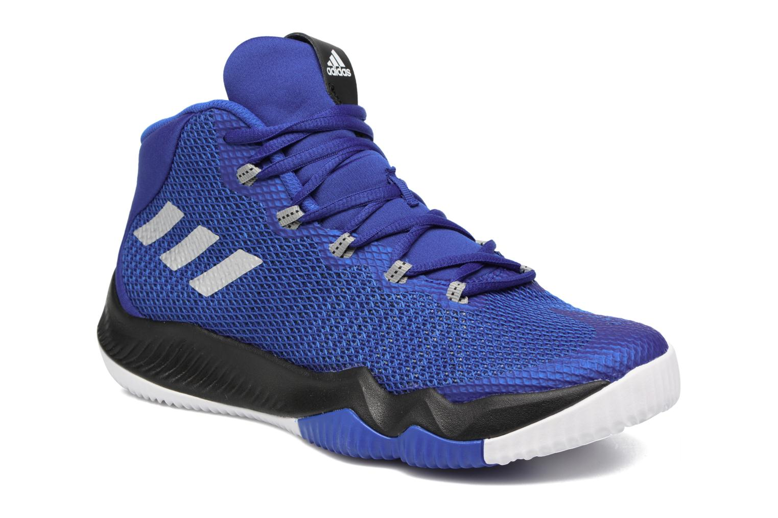 Baskets Adidas Performance Crazy Hustle J Bleu vue détail/paire