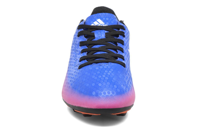 Chaussures de sport Adidas Performance Messi 16.4 Fxg J Bleu vue portées chaussures