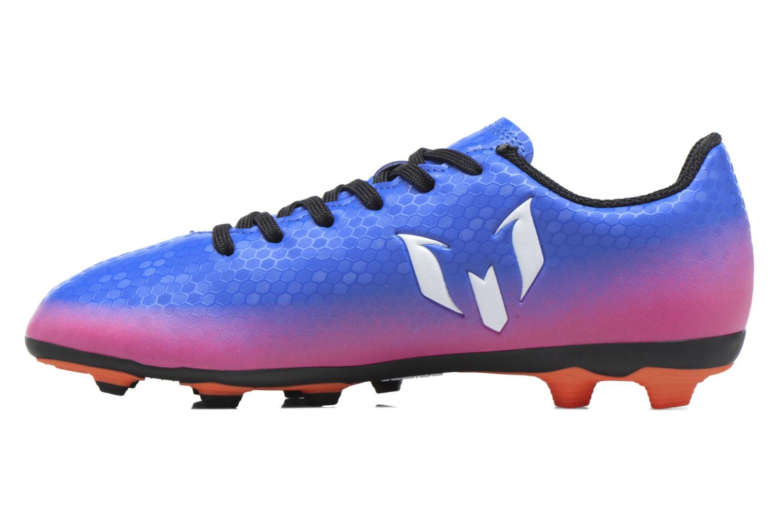 Chaussures de sport Adidas Performance Messi 16.4 Fxg J Bleu vue face