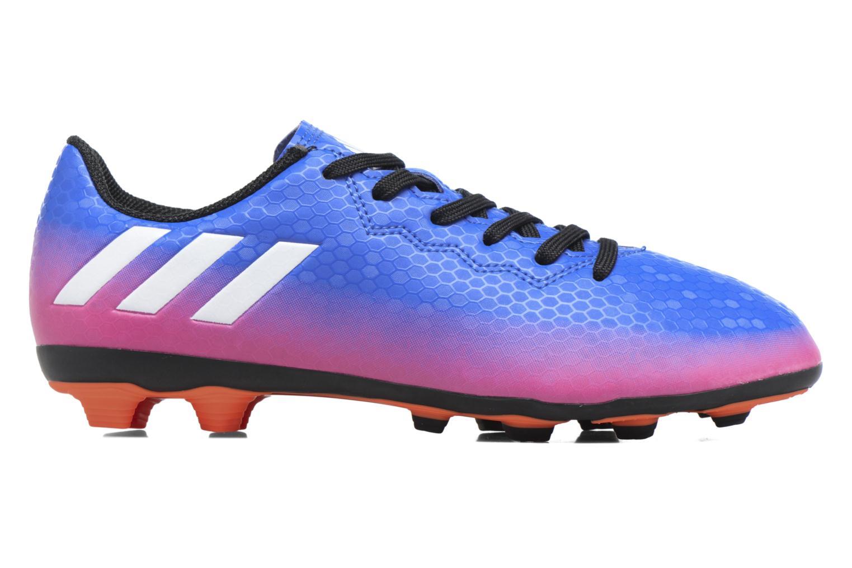 Chaussures de sport Adidas Performance Messi 16.4 Fxg J Bleu vue derrière