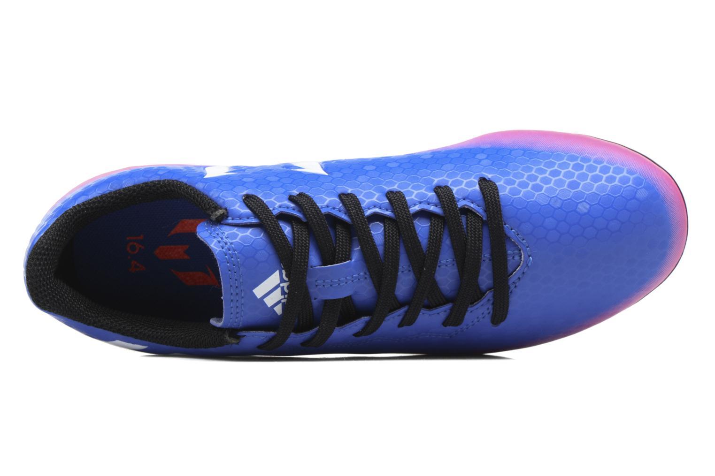 Chaussures de sport Adidas Performance Messi 16.4 Fxg J Bleu vue gauche