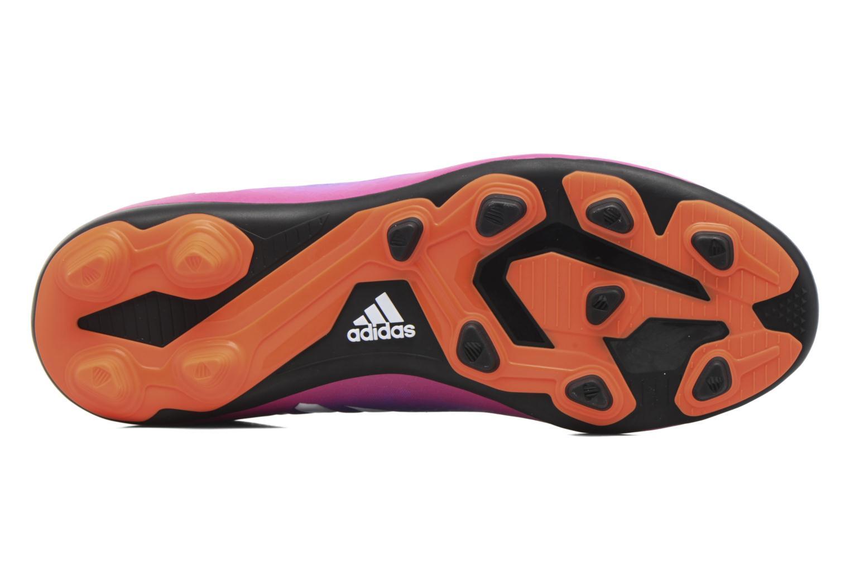 Chaussures de sport Adidas Performance Messi 16.4 Fxg J Bleu vue haut