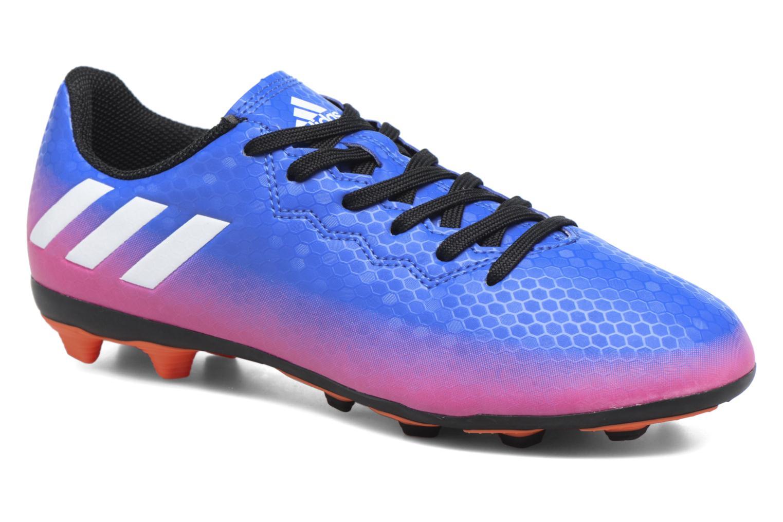 Chaussures de sport Adidas Performance Messi 16.4 Fxg J Bleu vue détail/paire