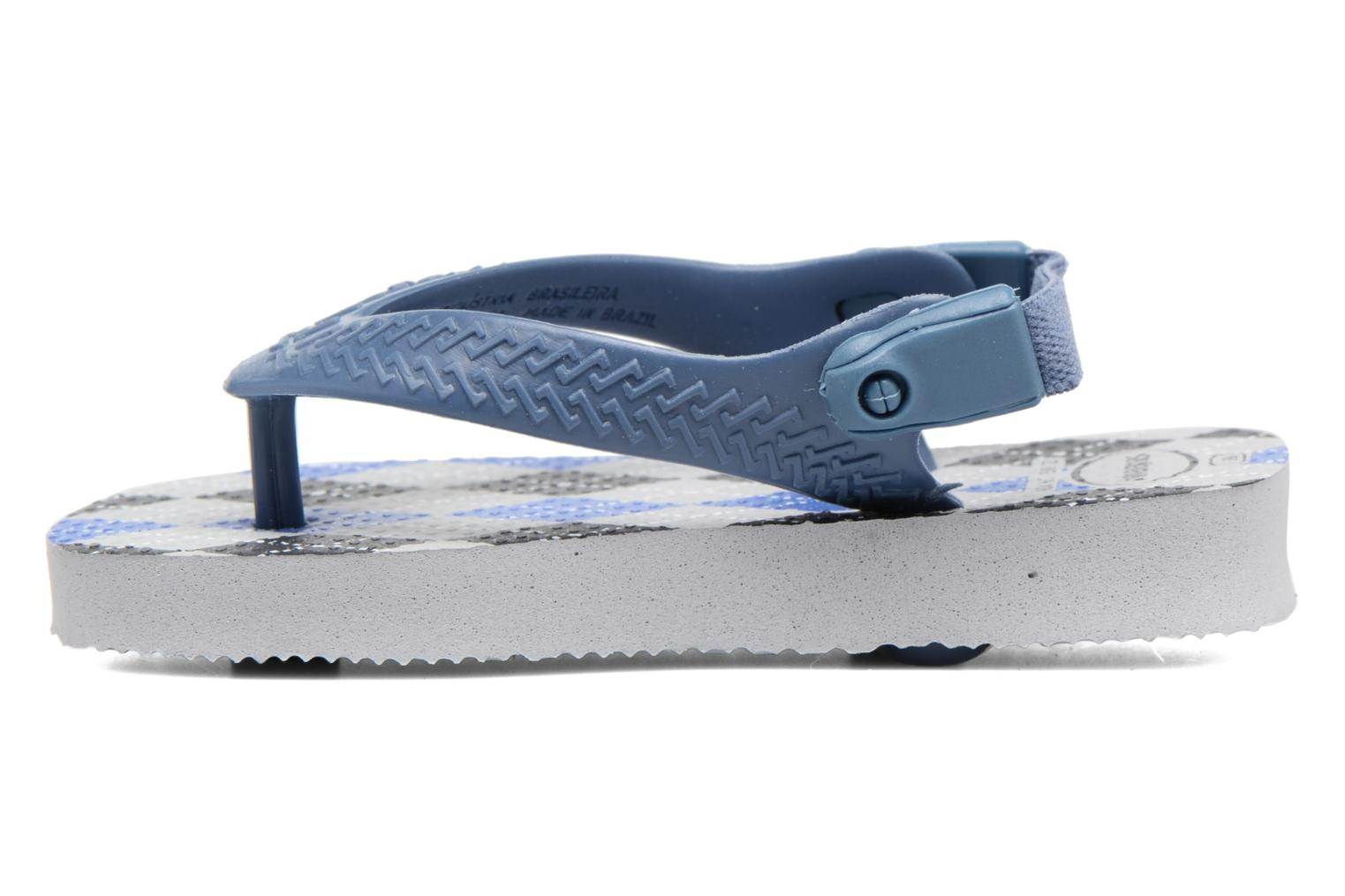 Sandals Havaianas Baby Chic 2 Grey front view
