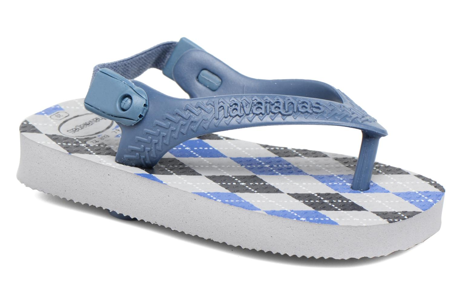 Sandals Havaianas Baby Chic 2 Grey detailed view/ Pair view