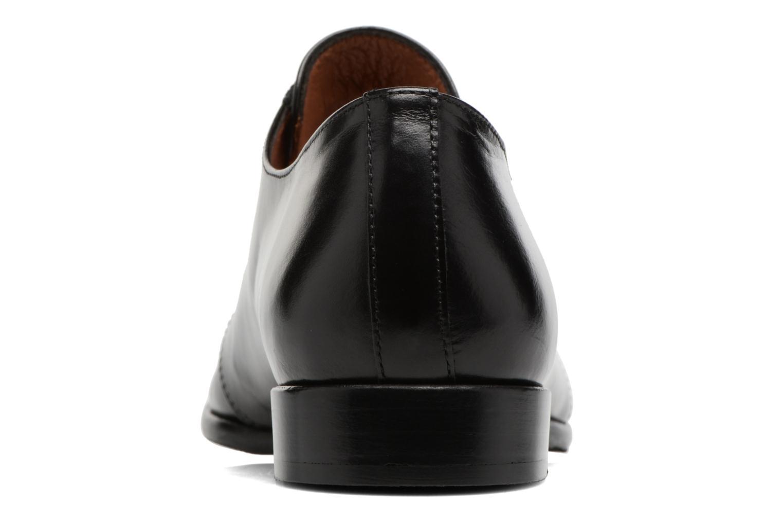 Chaussures à lacets Georgia Rose Tadaa Noir vue droite