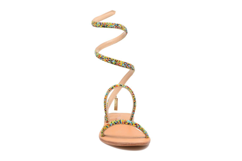 Sandales et nu-pieds Les Tropéziennes par M Belarbi Olga 2 Multicolore vue portées chaussures