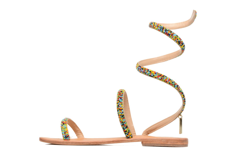 Sandales et nu-pieds Les Tropéziennes par M Belarbi Olga 2 Multicolore vue face