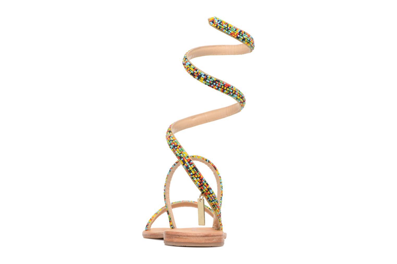 Sandales et nu-pieds Les Tropéziennes par M Belarbi Olga 2 Multicolore vue droite