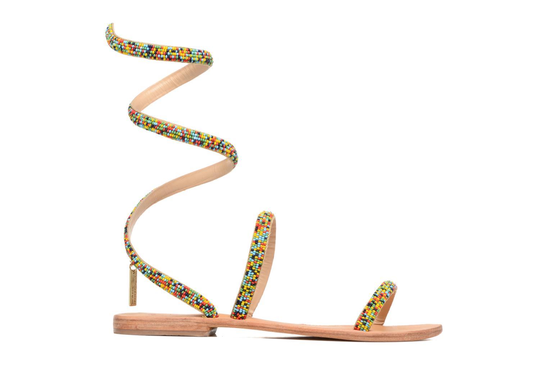 Sandales et nu-pieds Les Tropéziennes par M Belarbi Olga 2 Multicolore vue derrière