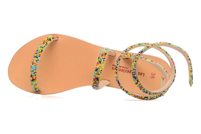 Sandales et nu-pieds Les Tropéziennes par M Belarbi Olga 2 Multicolore vue gauche
