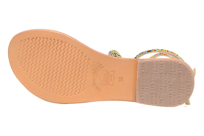 Sandales et nu-pieds Les Tropéziennes par M Belarbi Olga 2 Multicolore vue haut
